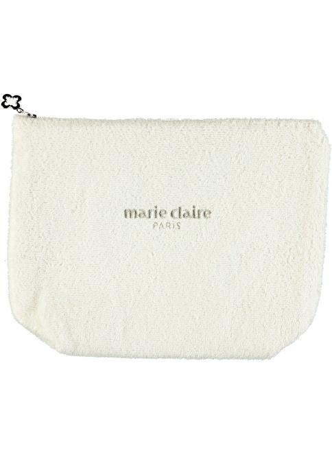 Marie Claire Makyaj Çantası Krem